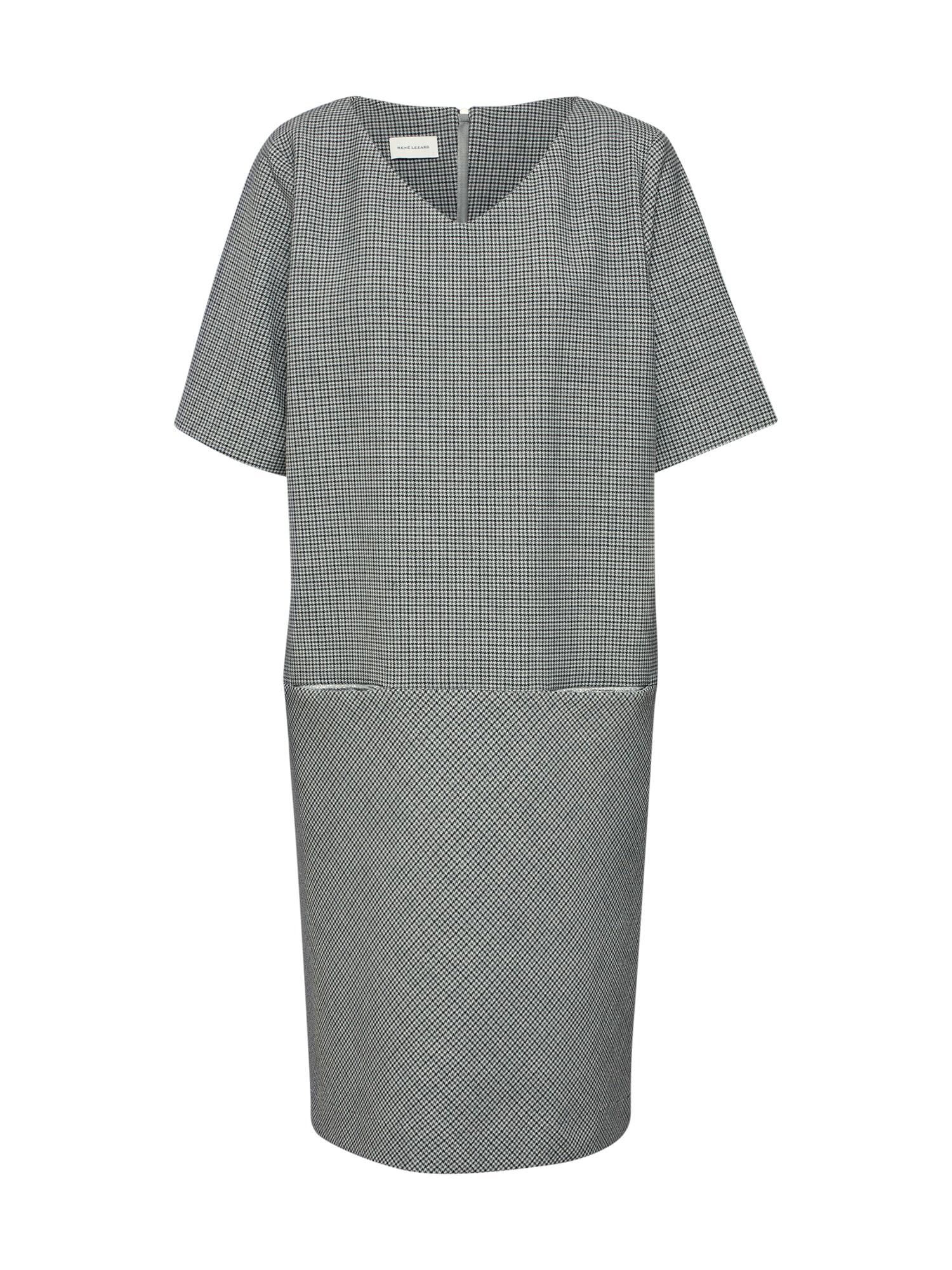 Pouzdrové šaty E040S šedá RENÉ LEZARD