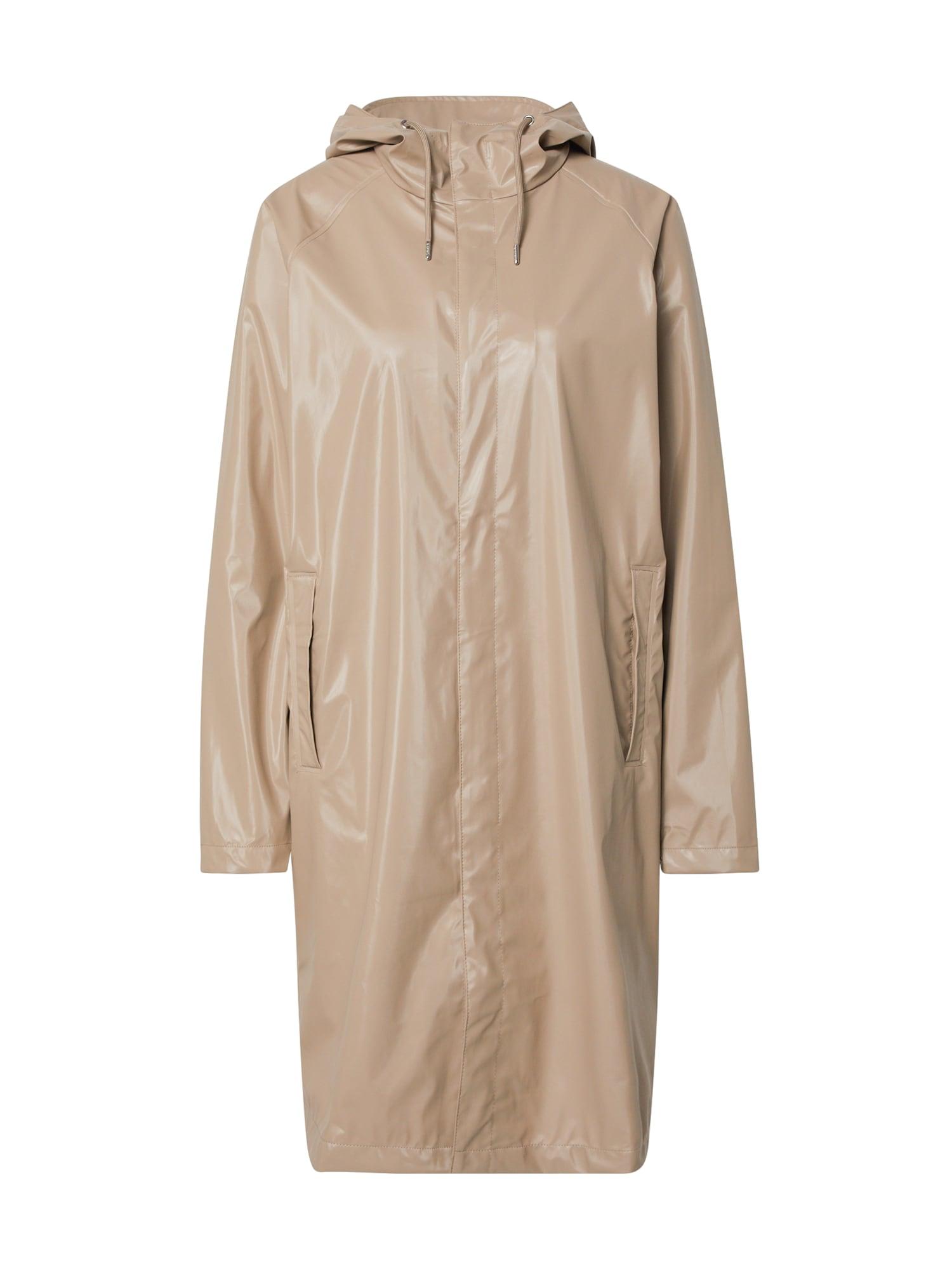 RAINS Demisezoninis paltas smėlio