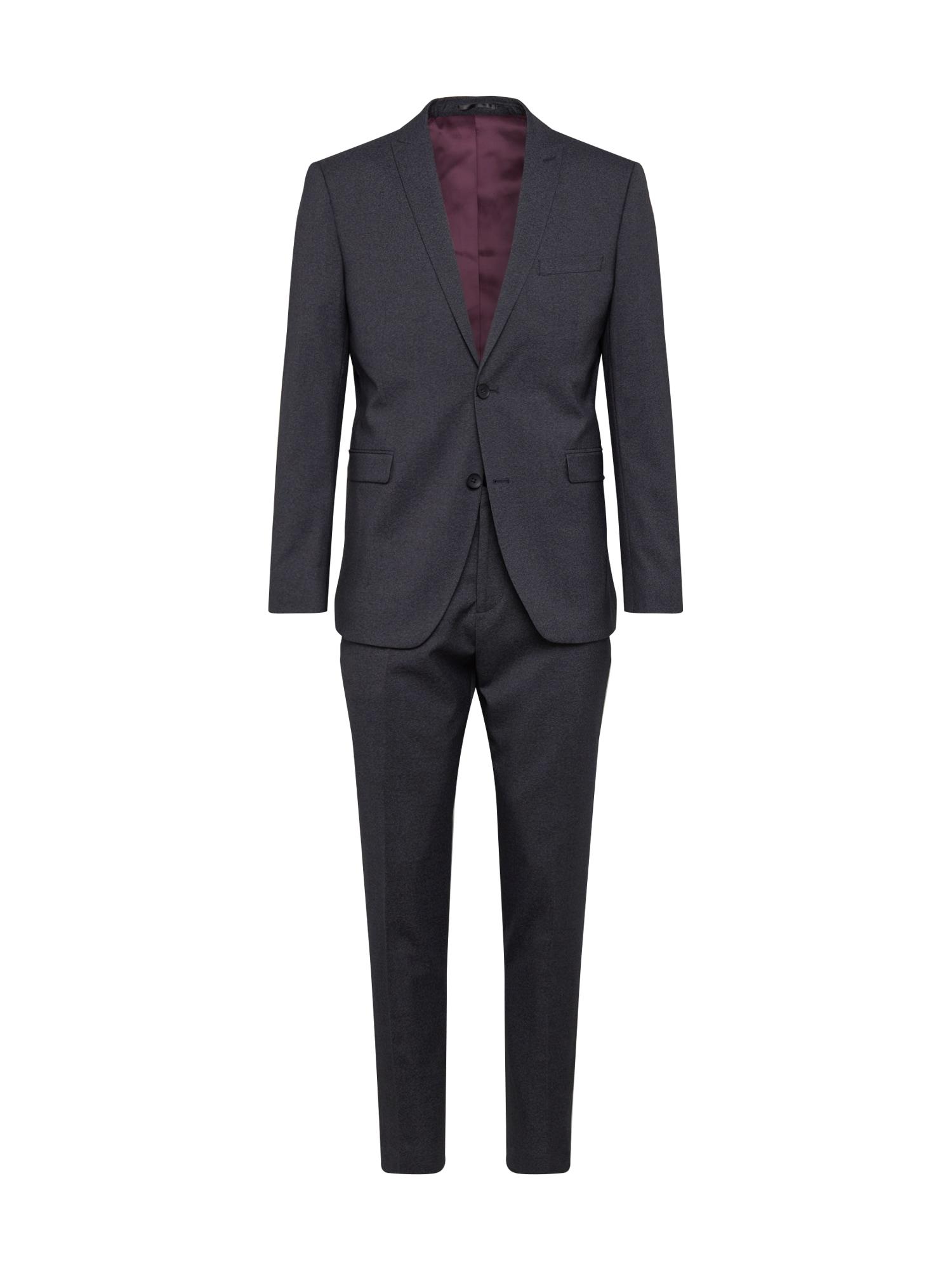 Esprit Collection Kostiumas 'Winter Melange' tamsiai pilka
