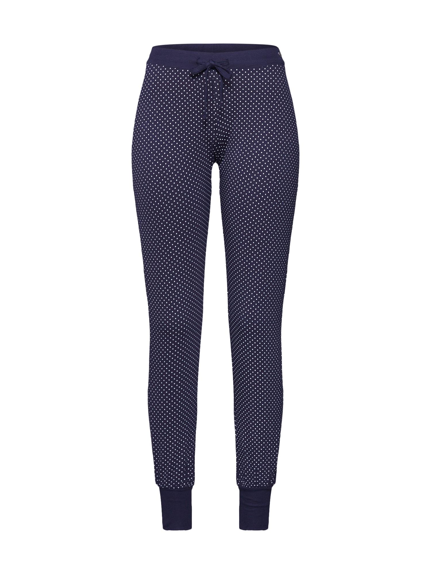 ESPRIT Pižaminės kelnės 'JAYLA' tamsiai mėlyna