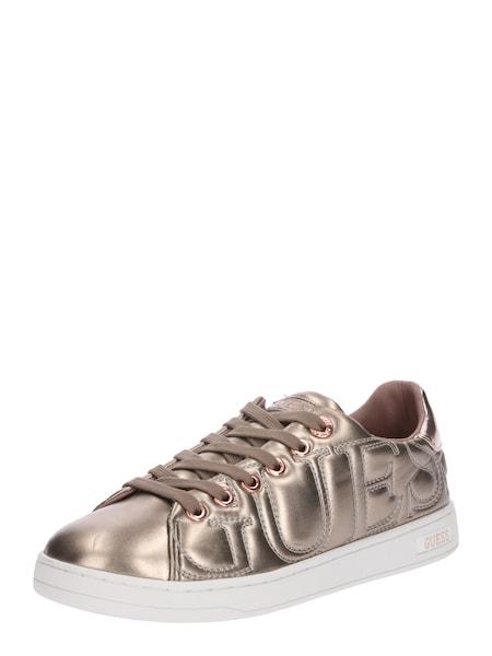 Sneakers für Frauen - GUESS Sneaker 'CESTIN' bronze  - Onlineshop ABOUT YOU