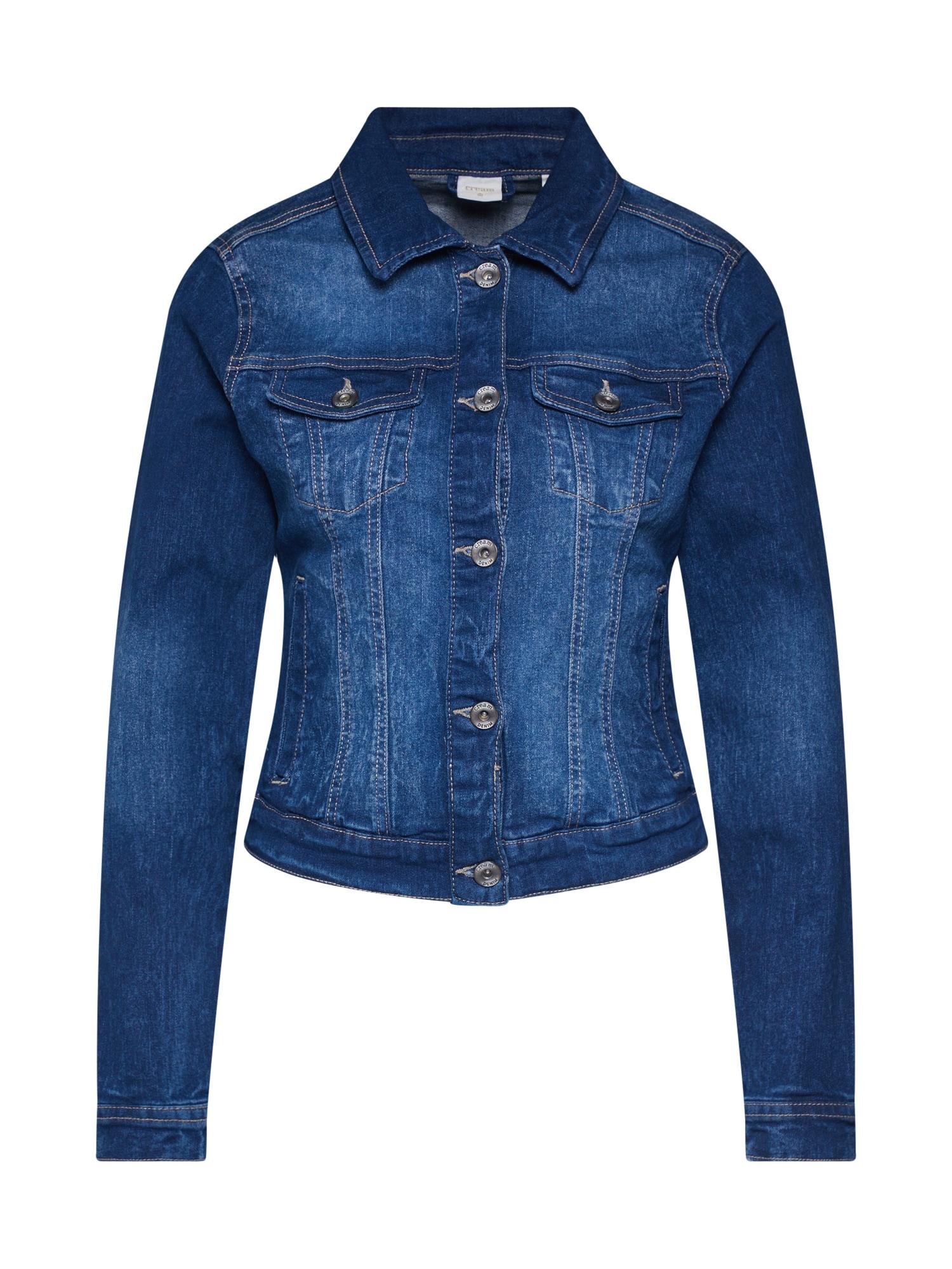 Cream Demisezoninė striukė tamsiai (džinso) mėlyna