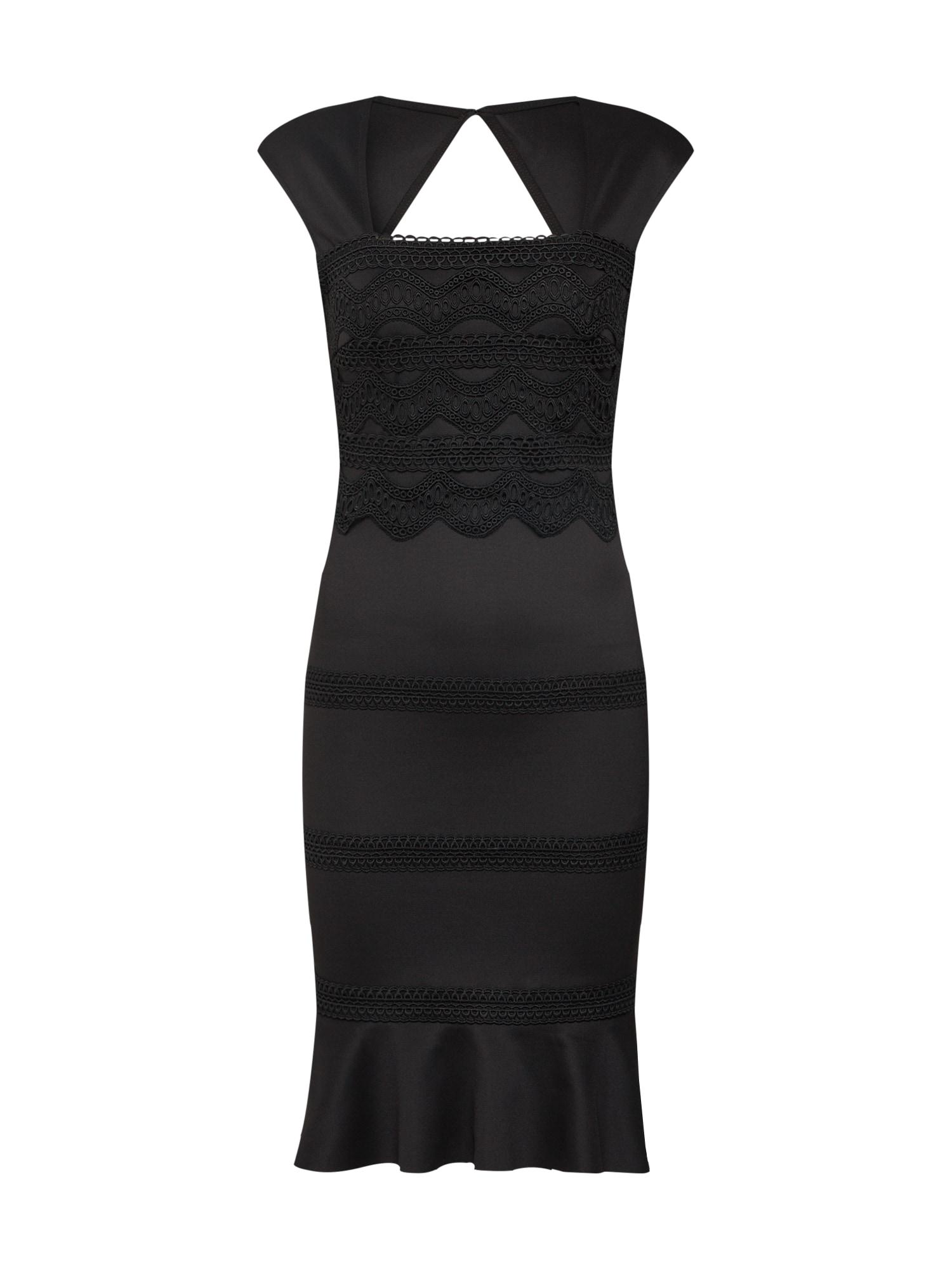 Lipsy Kokteilinė suknelė juoda