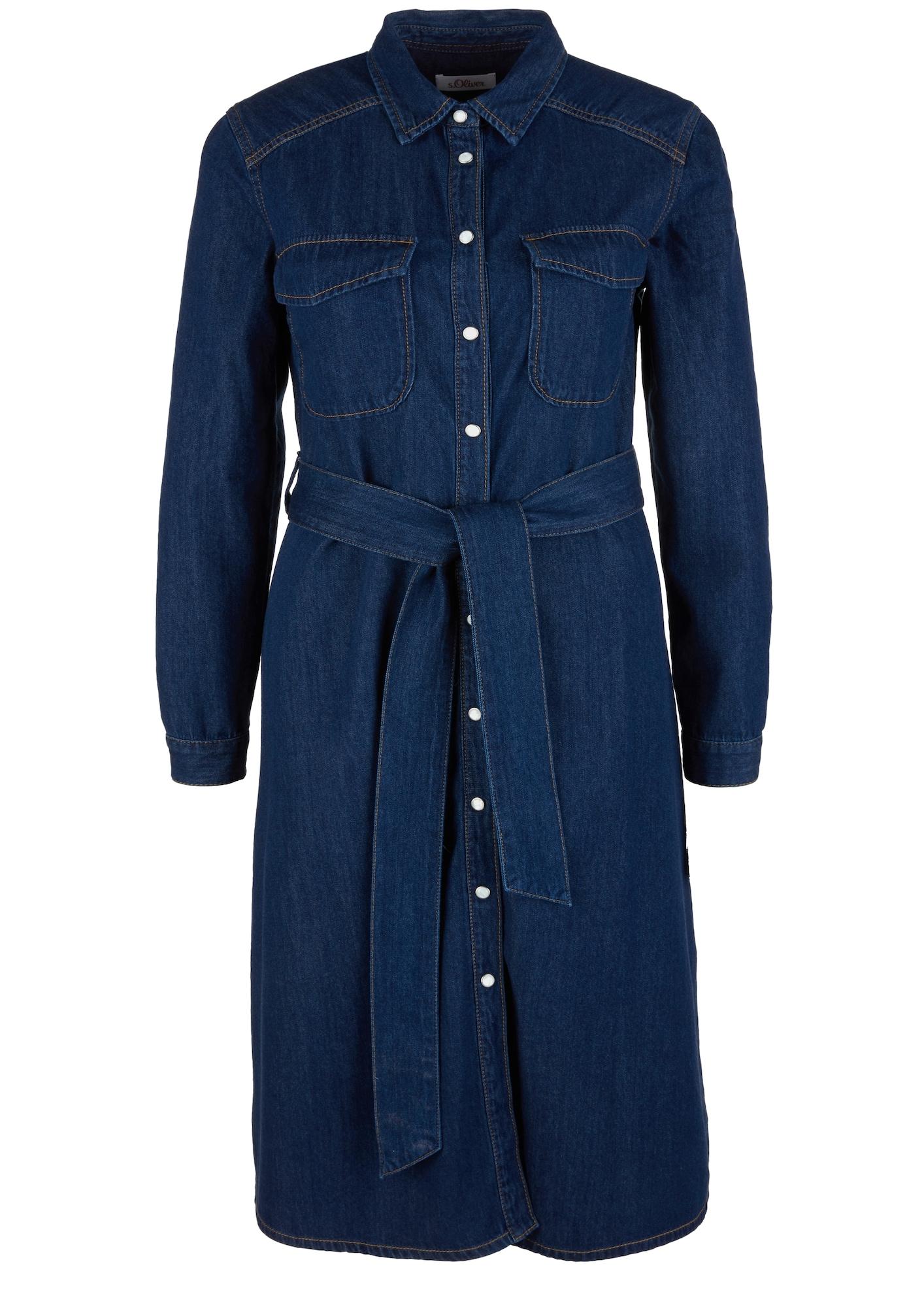 s.Oliver Palaidinės tipo suknelė tamsiai (džinso) mėlyna