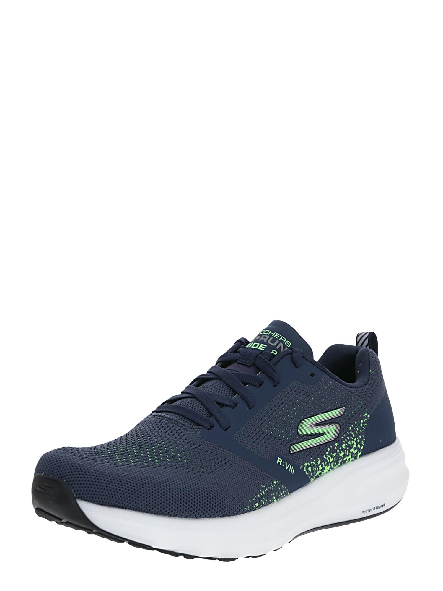 Skechers Performance Nízke tenisky 'GO RUN RIDE 8'  zelená / námornícka modrá