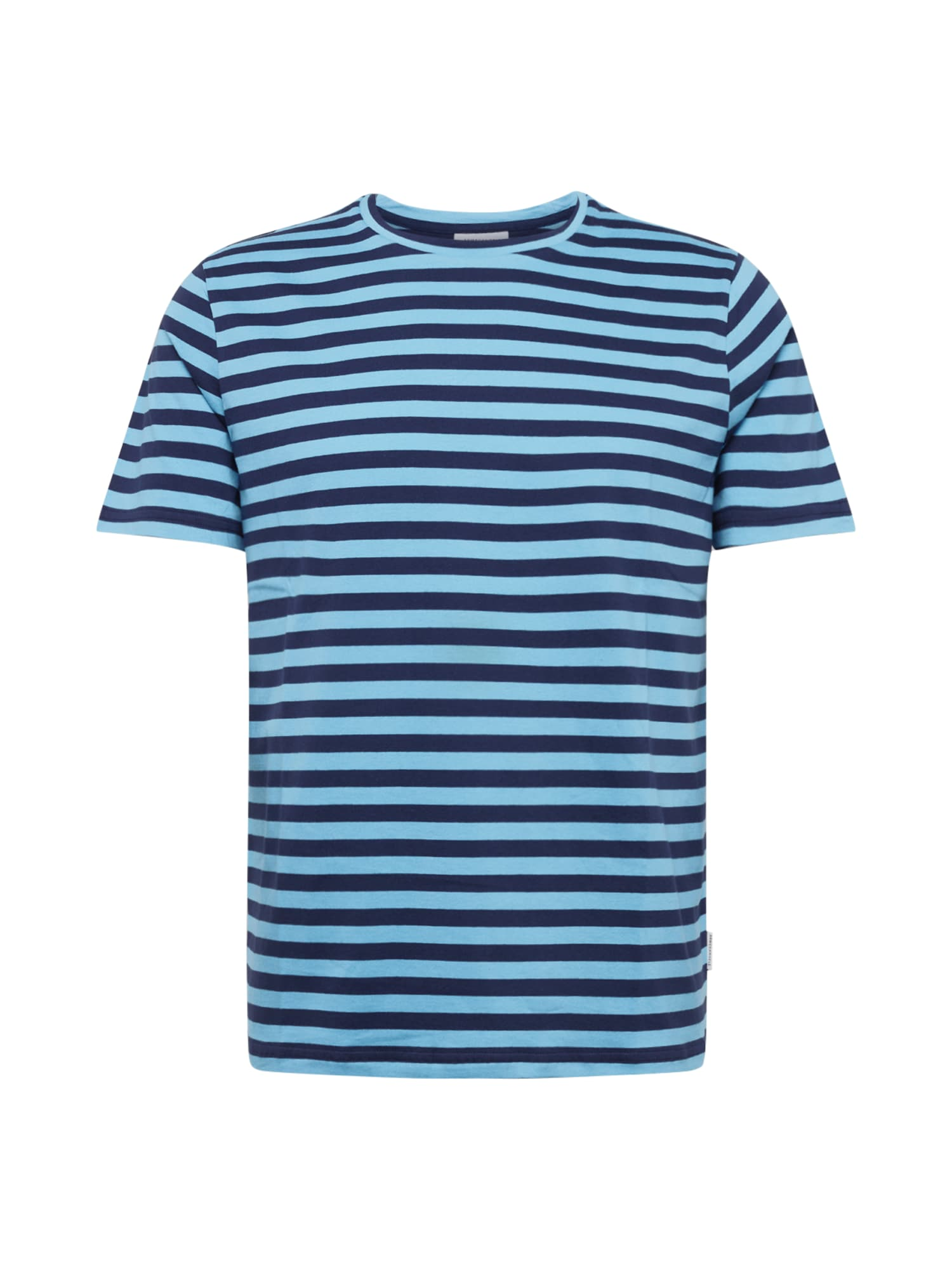 ARMEDANGELS Marškinėliai 'JAAMES BRETON' mėlyna / tamsiai mėlyna