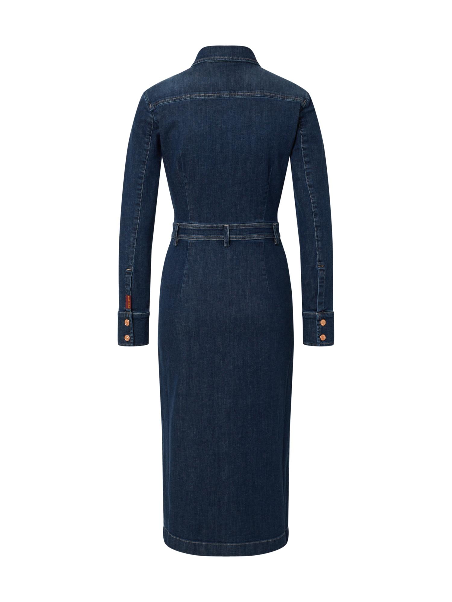 7 for all mankind Klänning 'Luxe'  mörkblå