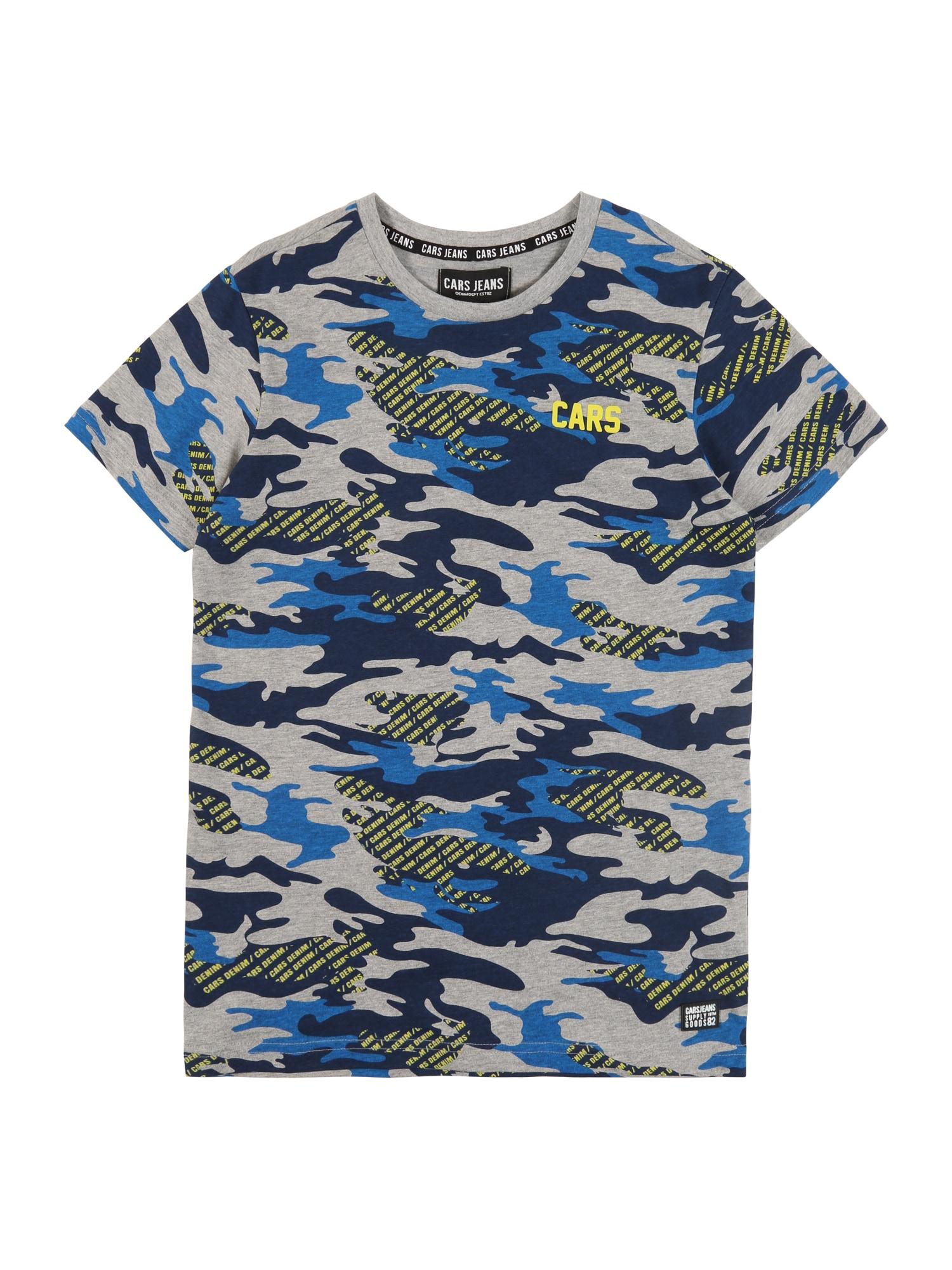 Cars Jeans Marškinėliai pilka / mėlyna