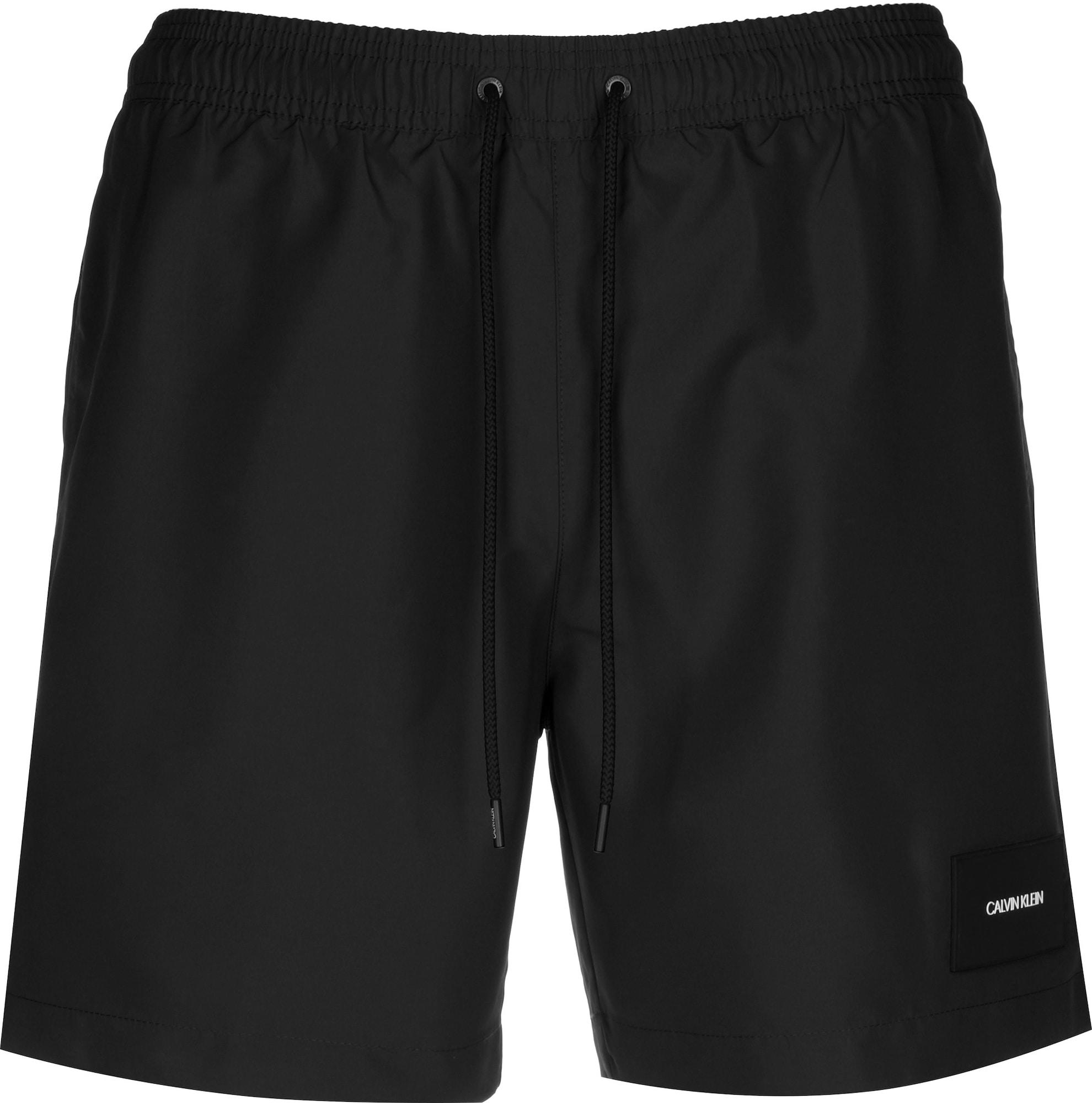Calvin Klein Underwear Plavecké šortky  černá