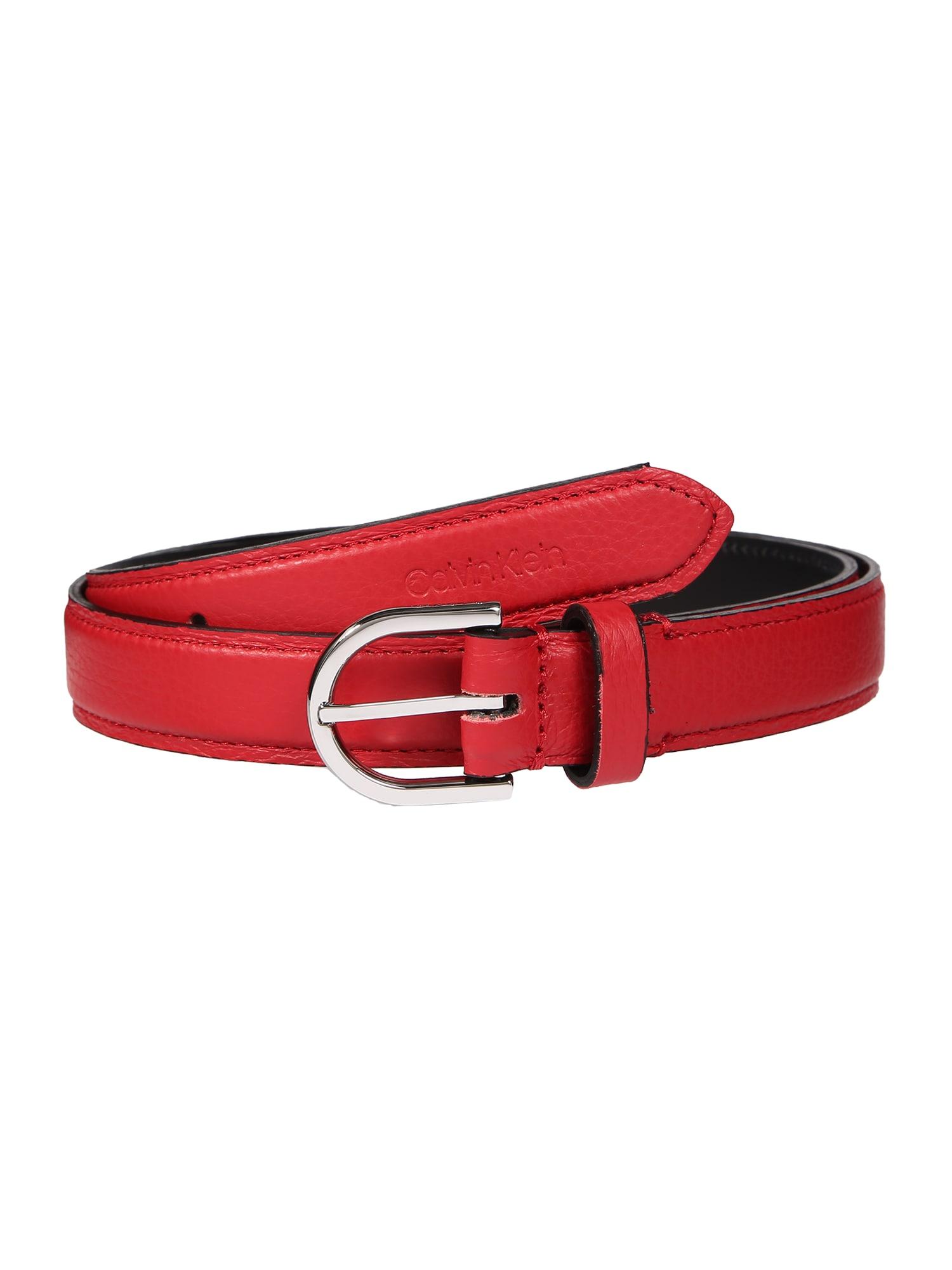 Calvin Klein Diržas raudona