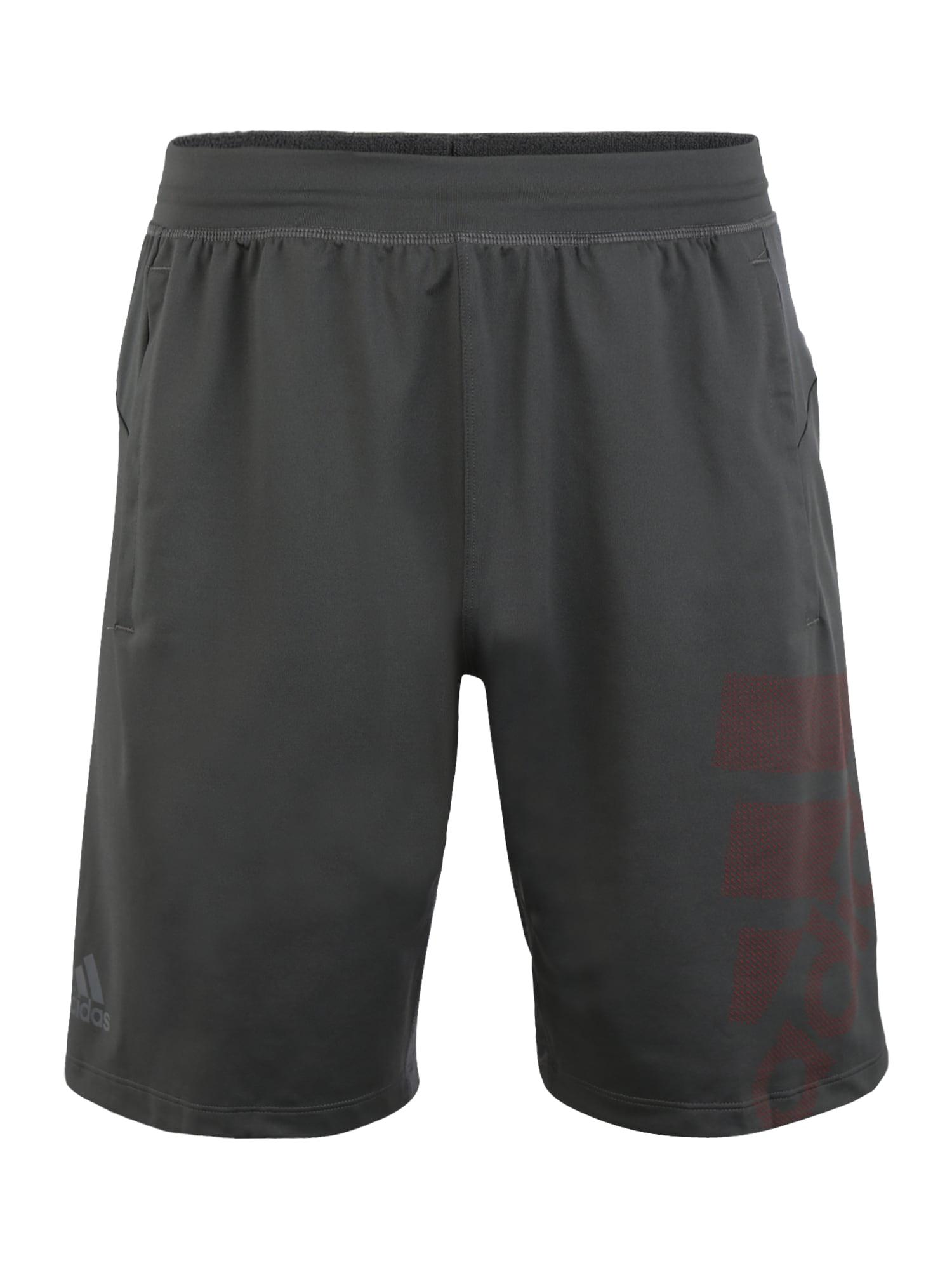 ADIDAS PERFORMANCE Sportinės kelnės tamsiai pilka