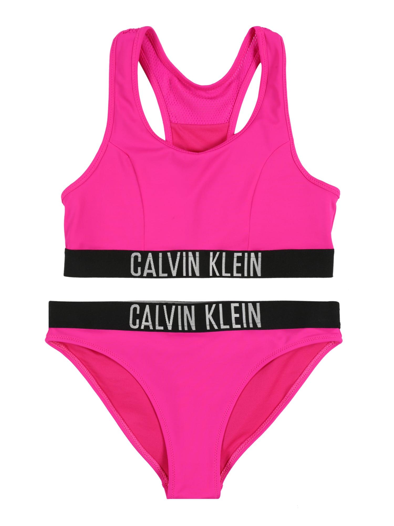 Calvin Klein Underwear Bikinis 'BRALETTE BIKINI SET' rožinė