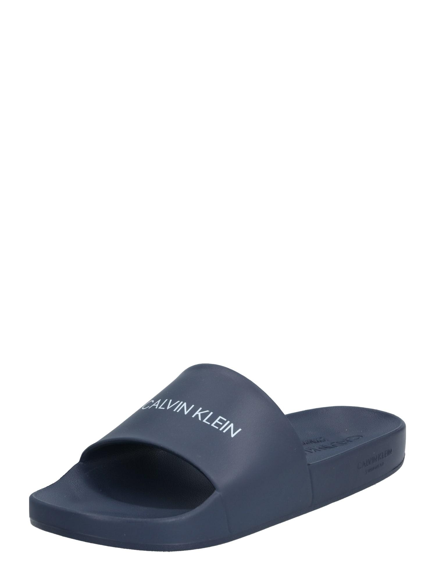 Calvin Klein Šľapky 'ONE MOLD'  tmavomodrá