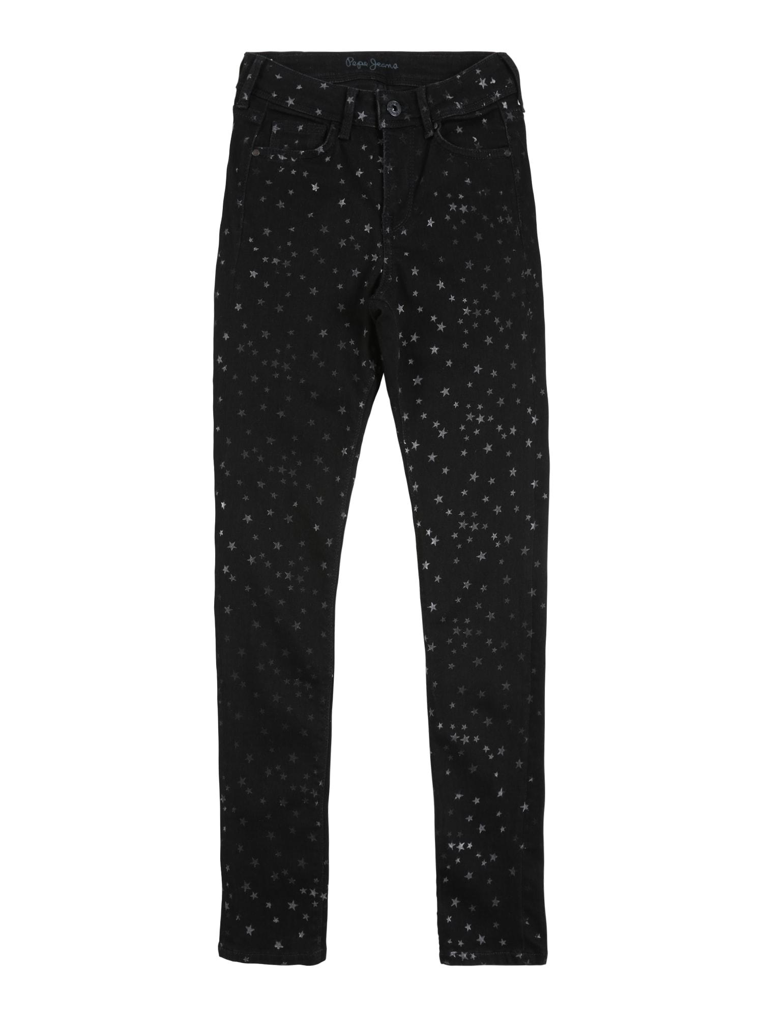 Pepe Jeans Kelnės 'PIXLETTE HIGH STAR' tamsiai (džinso) mėlyna