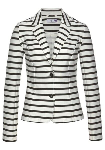 Jacken für Frauen - AJC Blazer schwarz naturweiß  - Onlineshop ABOUT YOU
