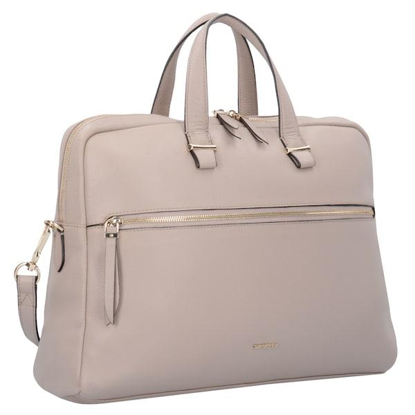 Businesstaschen für Frauen - SAMSONITE Highline II Aktentasche Leder 41 cm Laptopfach puder  - Onlineshop ABOUT YOU