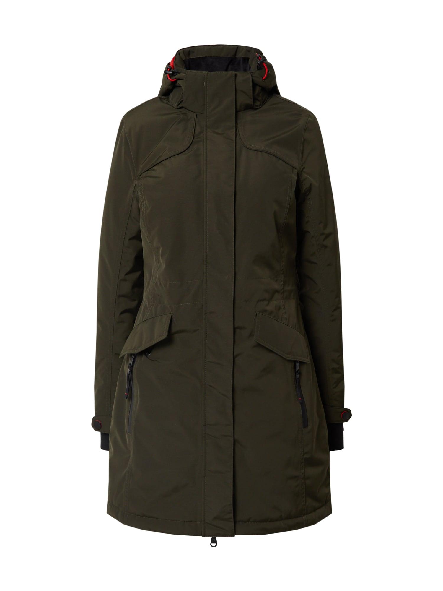 KILLTEC Outdoorový kabát 'Grindavik'  olivová
