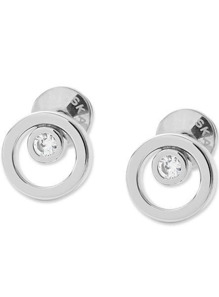 Ohrringe für Frauen - SKAGEN Ohrstecker mit Glassteinen, »Elin, SKJ0836040« silber  - Onlineshop ABOUT YOU