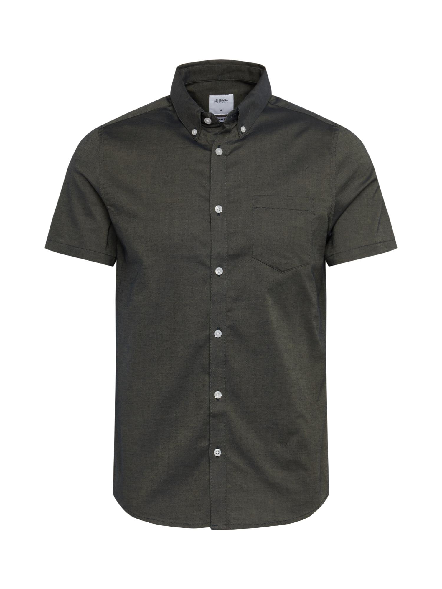 BURTON MENSWEAR LONDON Dalykiniai marškiniai žalia