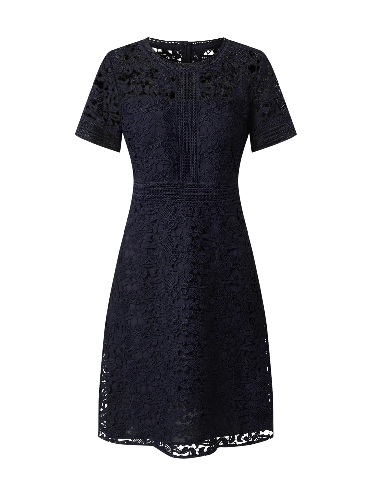s.Oliver BLACK LABEL Kokteilové šaty  námornícka modrá