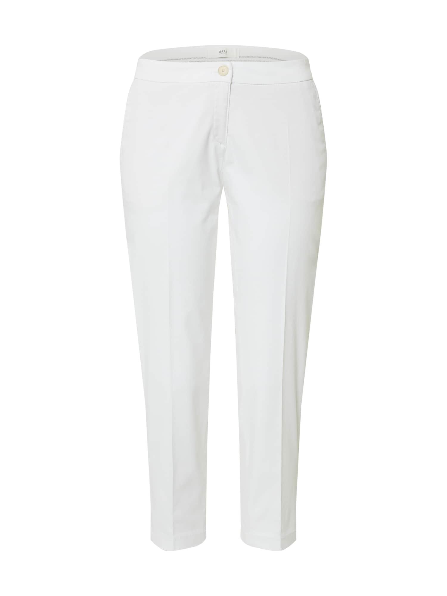 BRAX Chino stiliaus kelnės 'MARON' balta