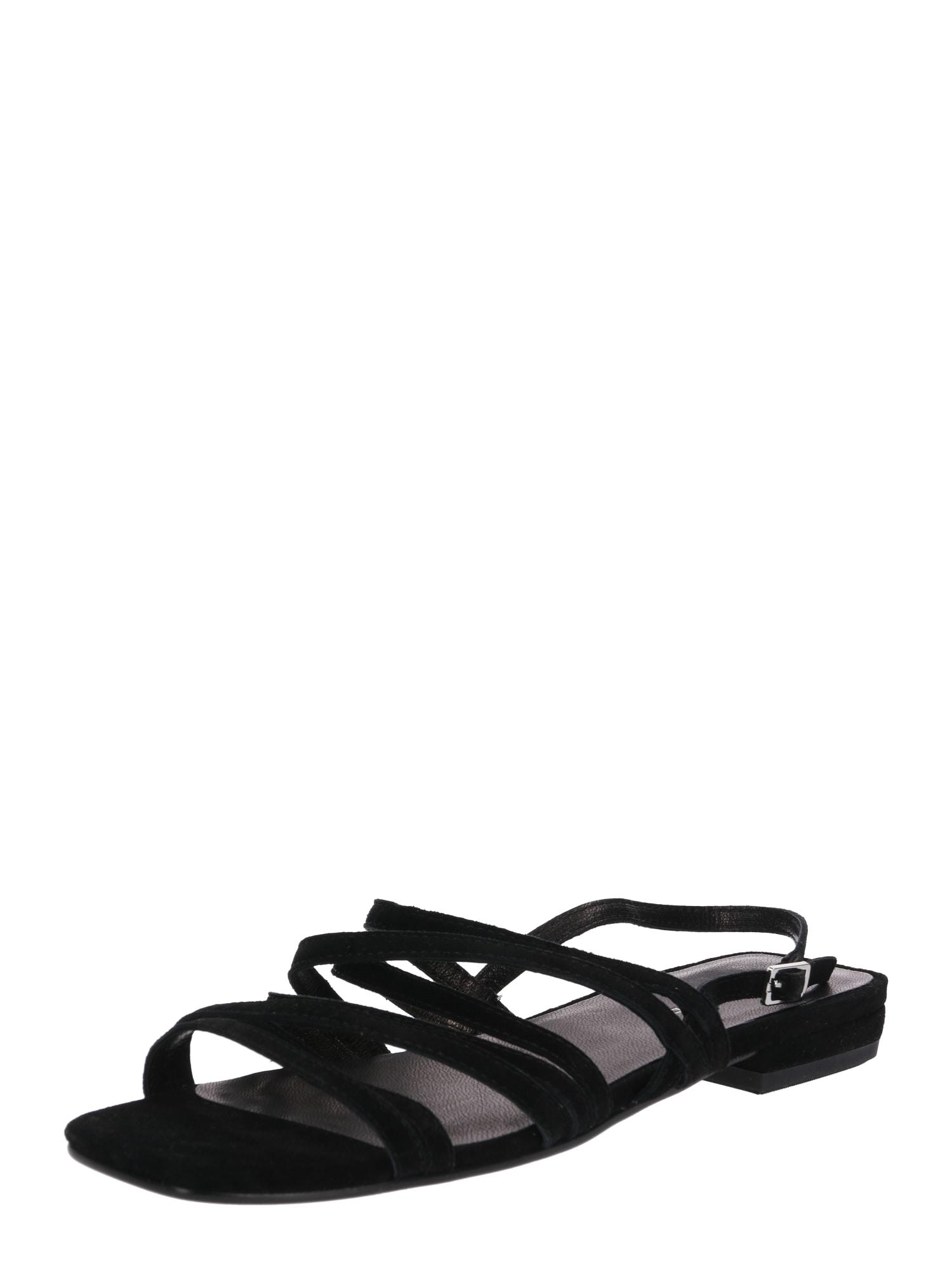 Páskové sandály Becky černá VAGABOND SHOEMAKERS