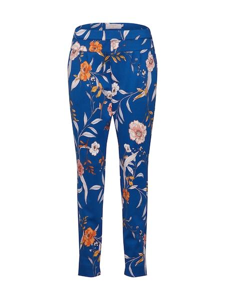 Hosen für Frauen - Hose 'Lara' › Cream › dunkelblau orange rosa  - Onlineshop ABOUT YOU
