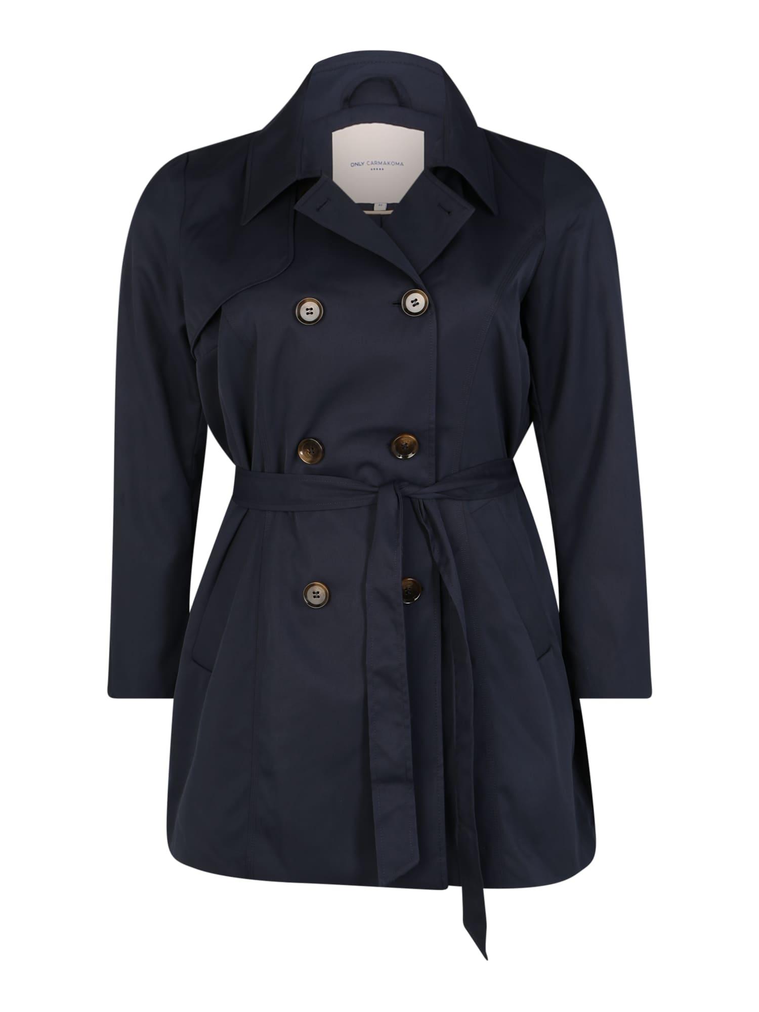 ONLY Carmakoma Rudeninis-žieminis paltas nakties mėlyna