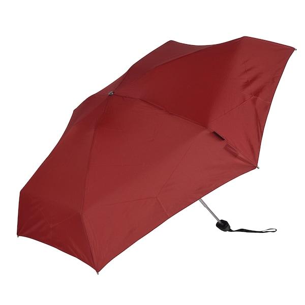Regenschirme für Frauen - KNIRPS Taschenschirm 'TS.010 Small Manual' 18 cm dunkelrot  - Onlineshop ABOUT YOU