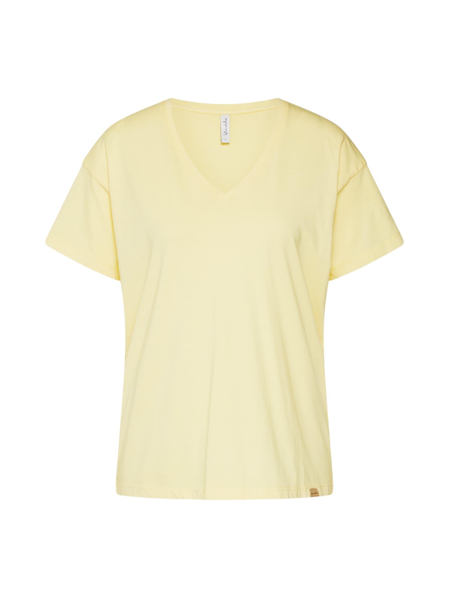 Blend She Oversize tričko 'BSLOVA'  žlté