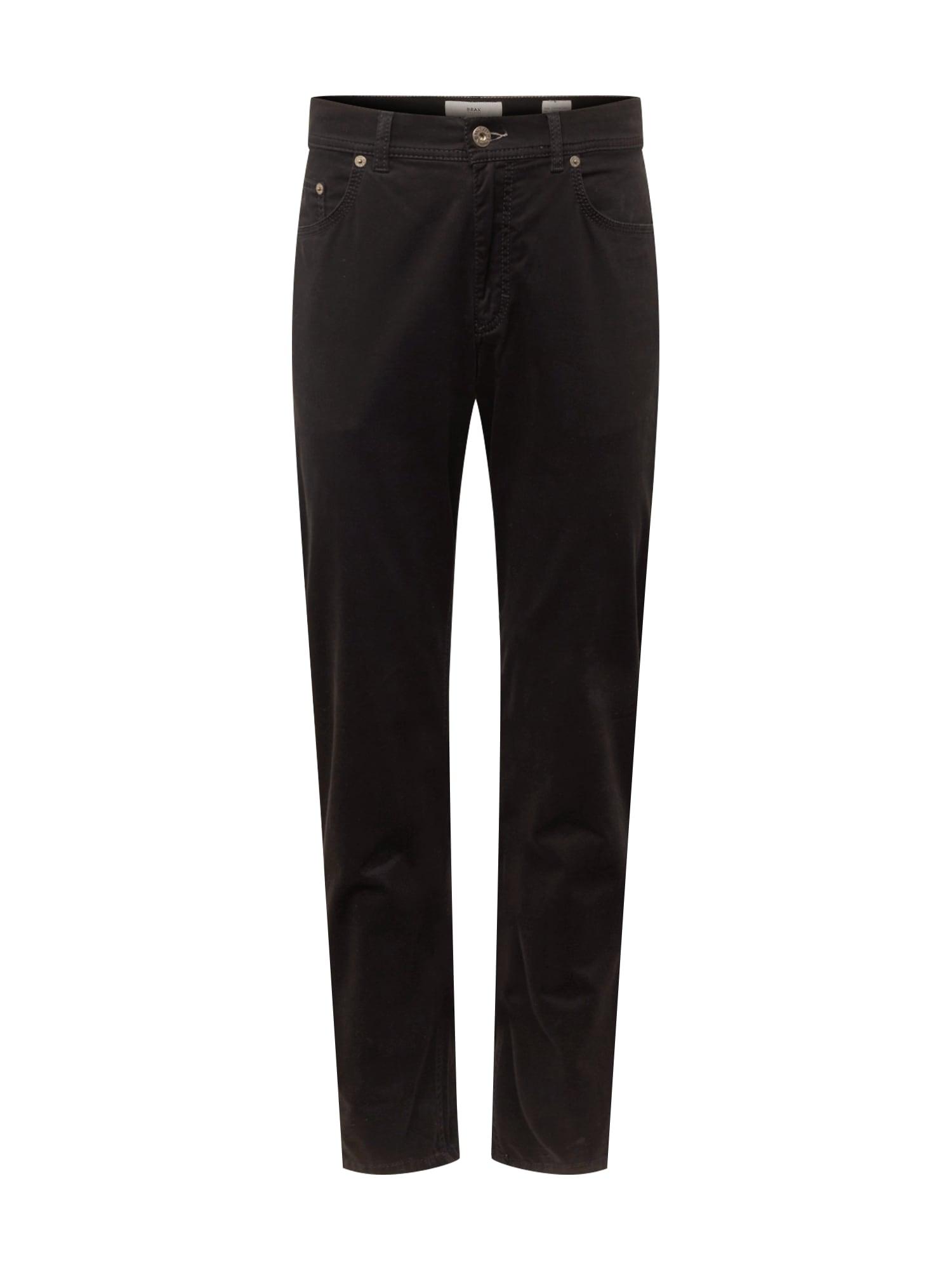 Kalhoty cooper fancy černá BRAX