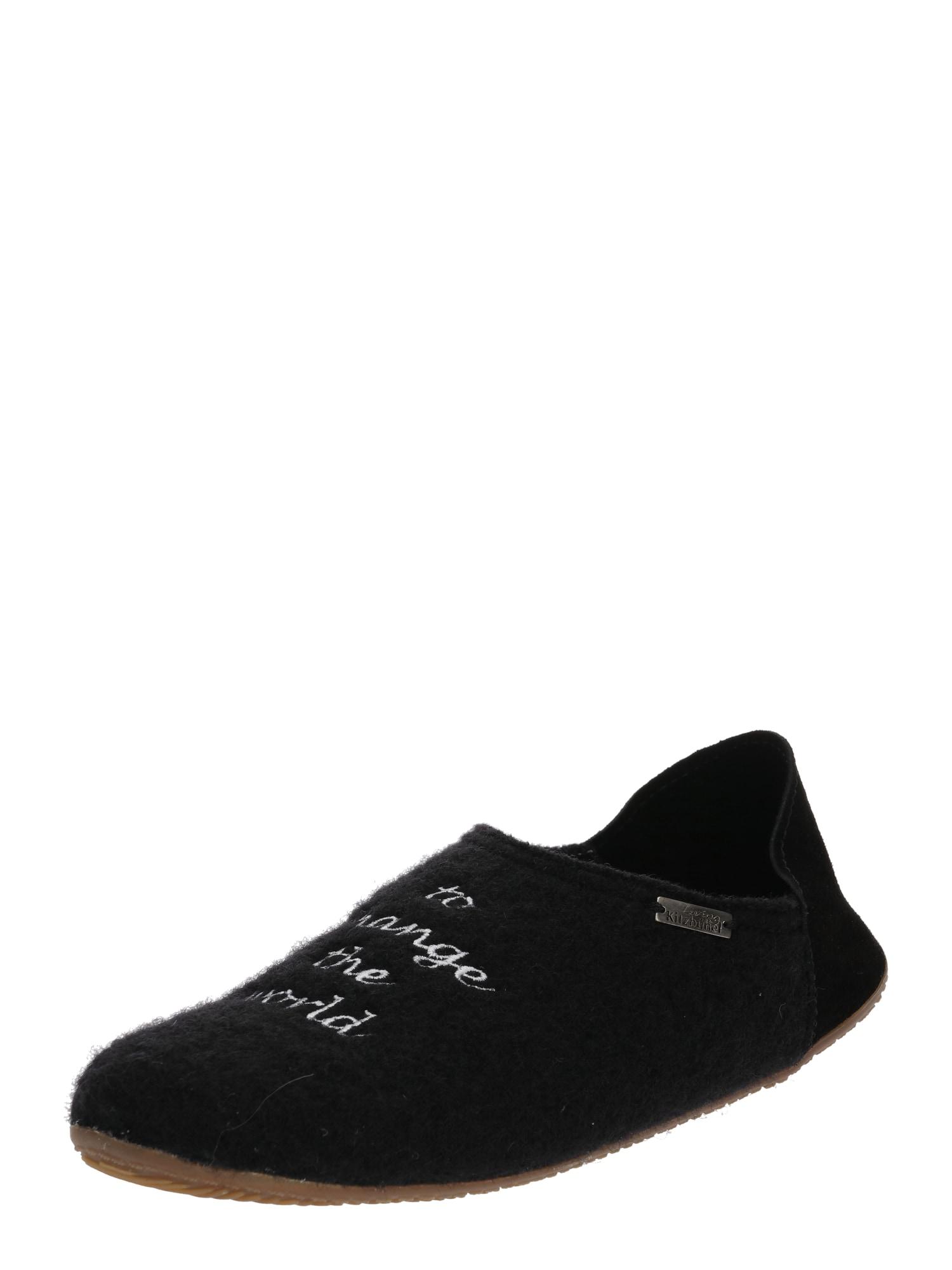 Pantofle 3643-900 černá Living Kitzbühel