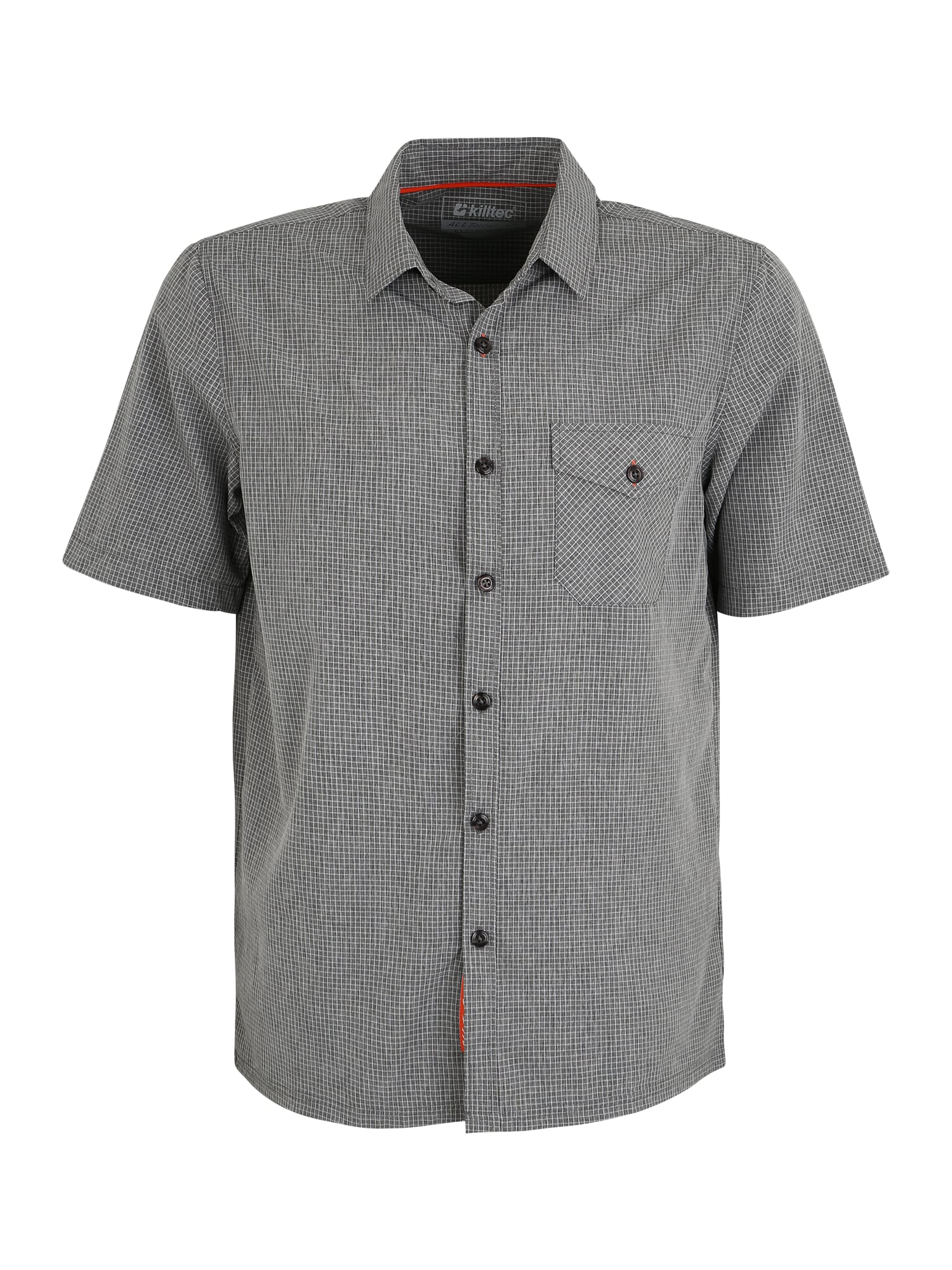 KILLTEC Funkciniai marškiniai 'Havon Checker' antracito