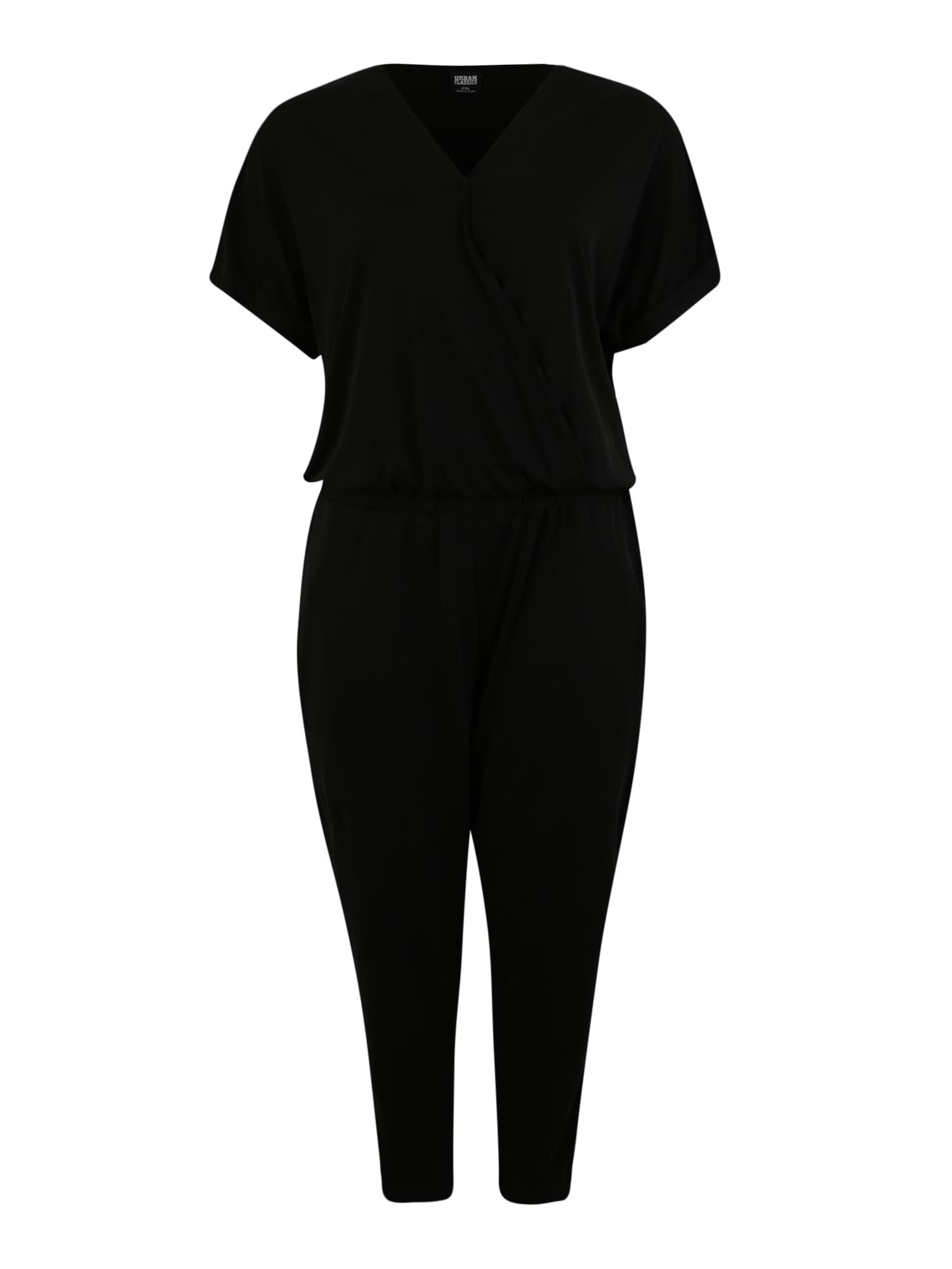 Urban Classics Curvy Kombinezono tipo kostiumas juoda