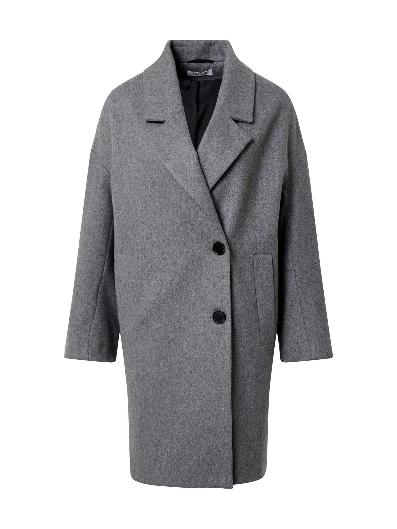 EDITED Demisezoninis paltas 'Hanne' pilka