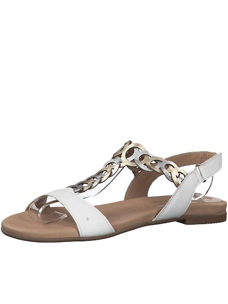 Sandalen für Frauen - TAMARIS Sandale weiß  - Onlineshop ABOUT YOU