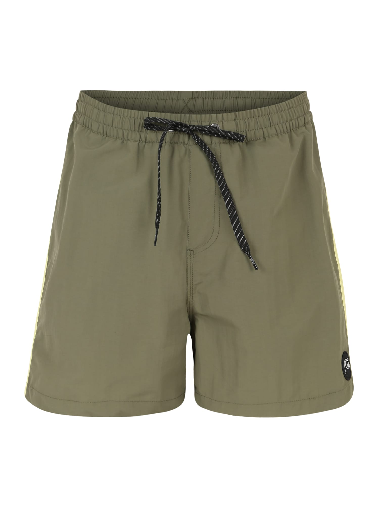 QUIKSILVER Plavecké šortky 'BPLEASEVLY16 M JAMV BSM0'  oranžová / zelená