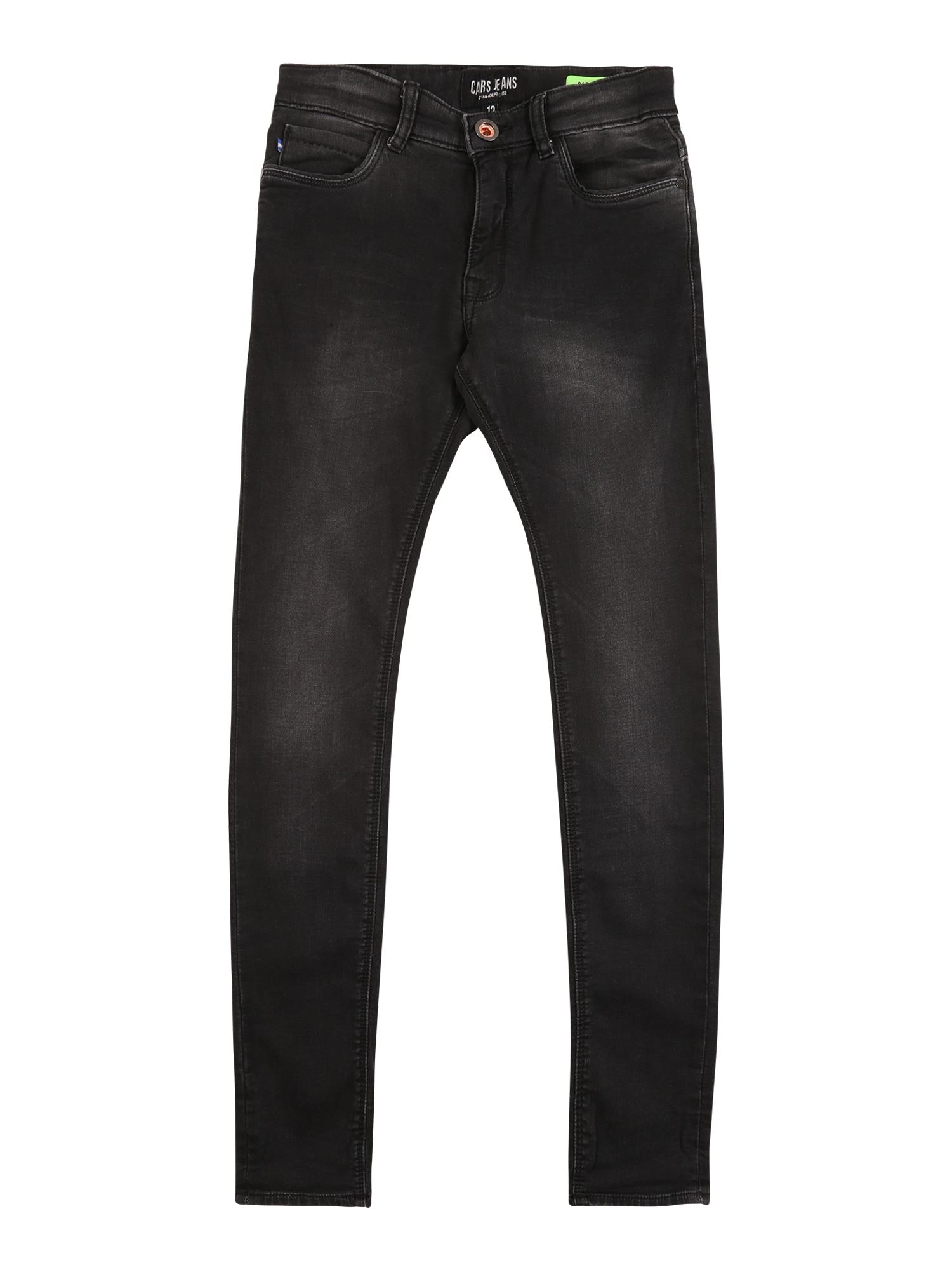 Cars Jeans Džinsai 'ABURGO' juodo džinso spalva