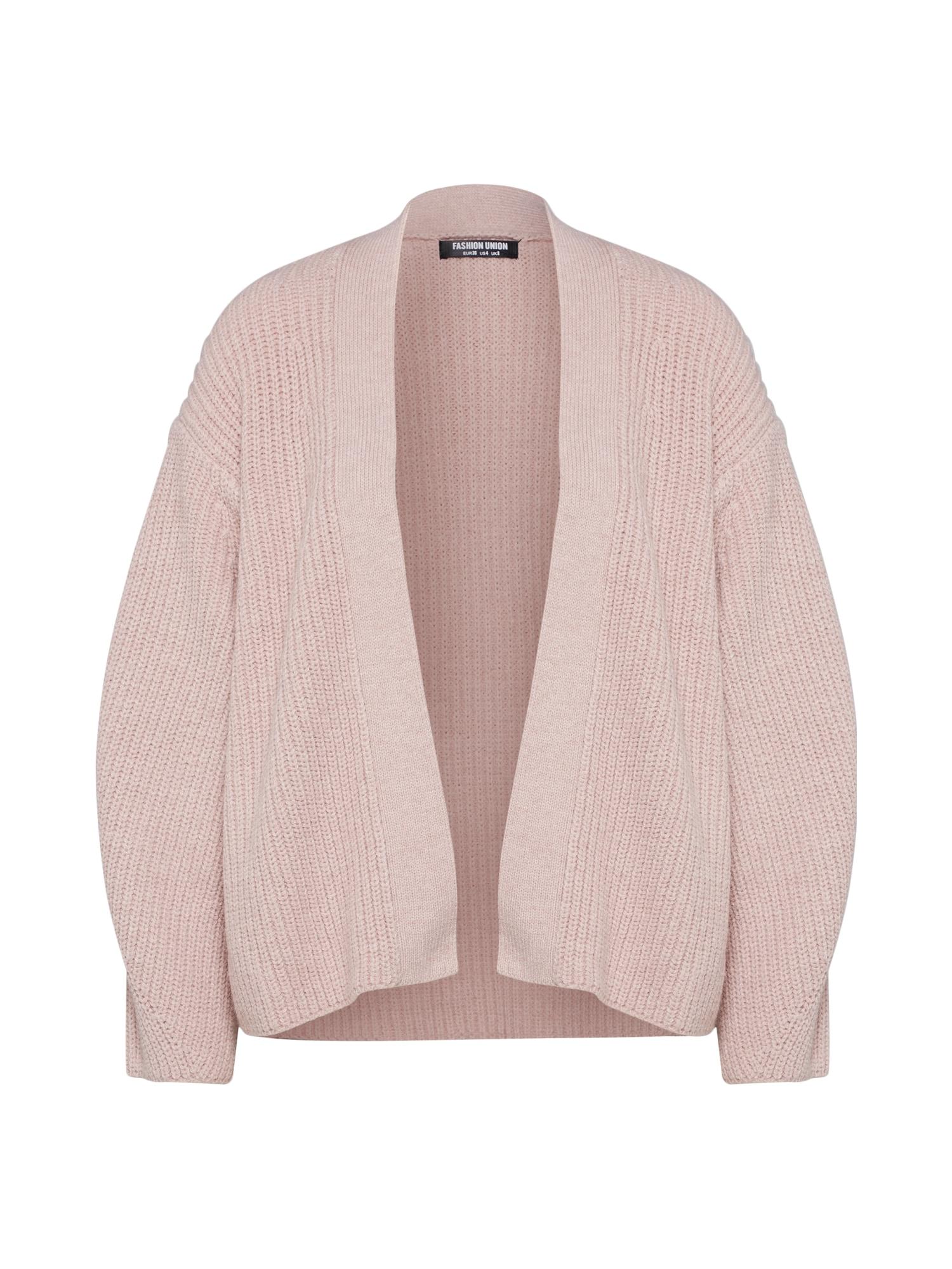 Kardigan COURGETTE růžová Fashion Union