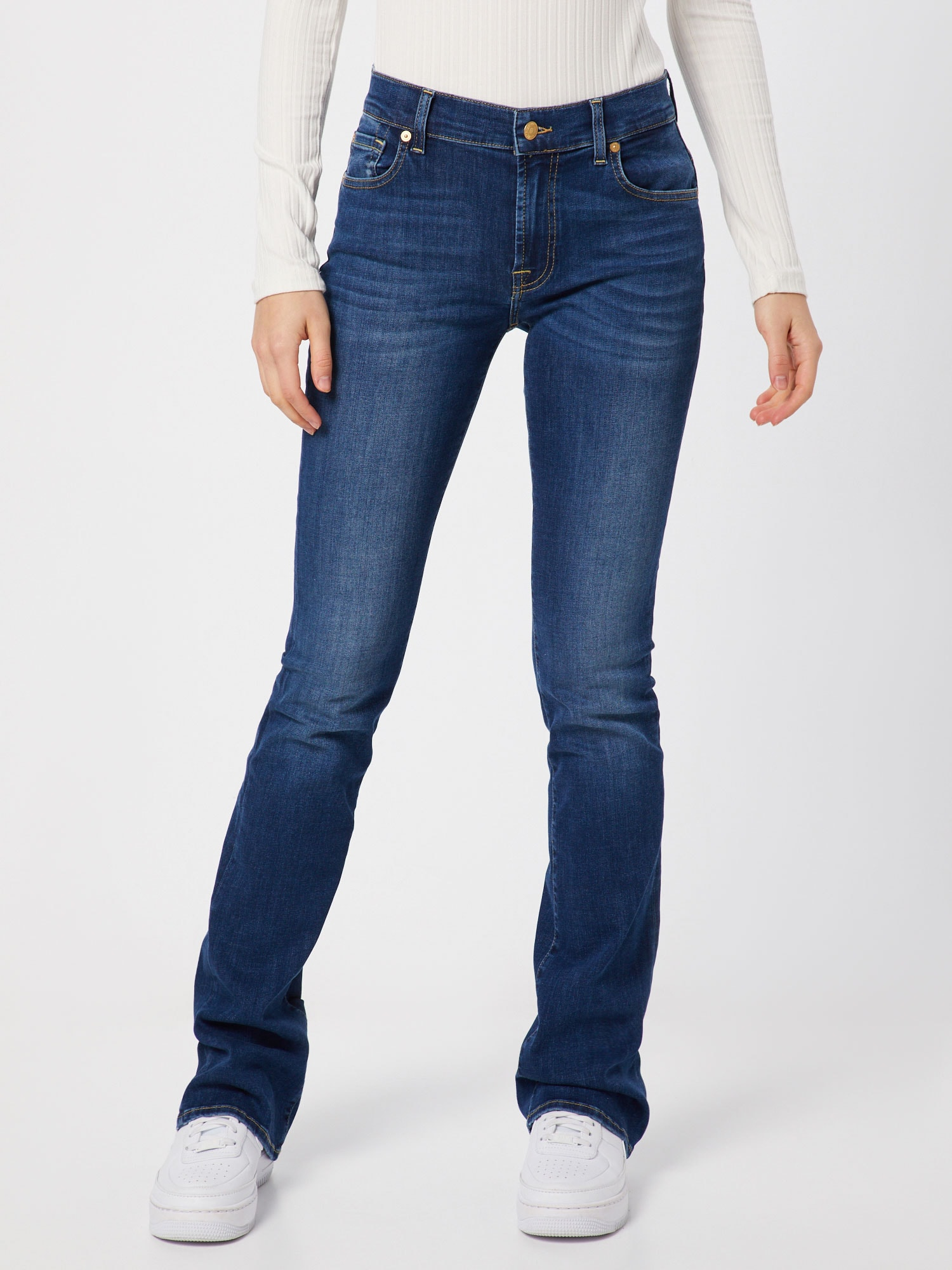 7 for all mankind Jeans 'BOOTCUT BAIR'  blå denim