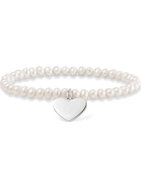 Armbaender für Frauen - Thomas Sabo Armband silber perlweiß  - Onlineshop ABOUT YOU