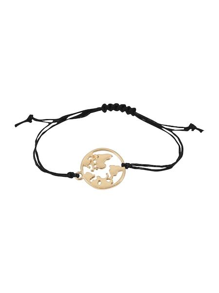 Armbaender - Armband 'Vivian' › ABOUT YOU › gold schwarz  - Onlineshop ABOUT YOU