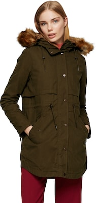 PARKA LONDON Parka mit Besatz in Felloptik 'LARA'