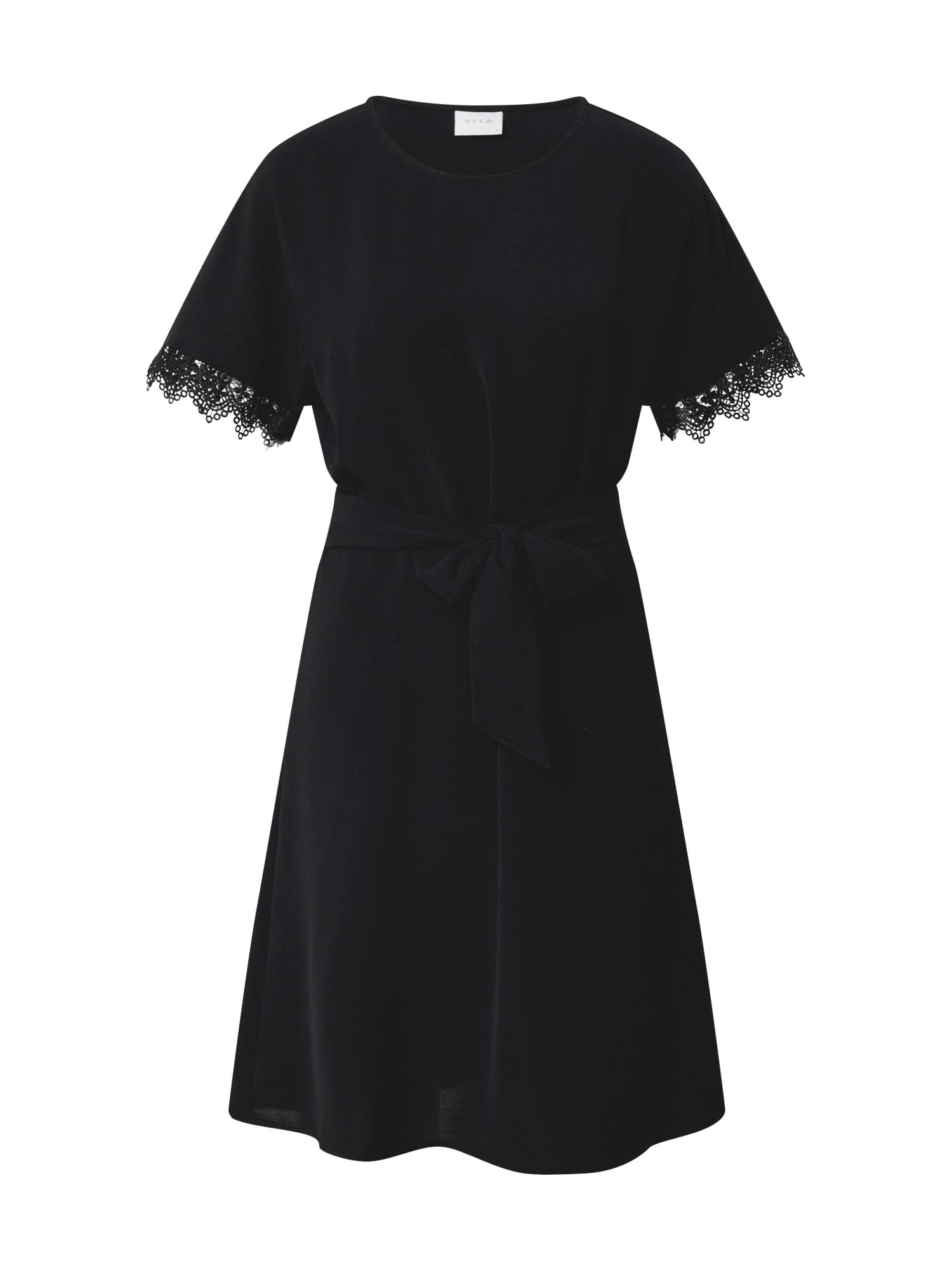 VILA Šaty 'Virasha'  čierna