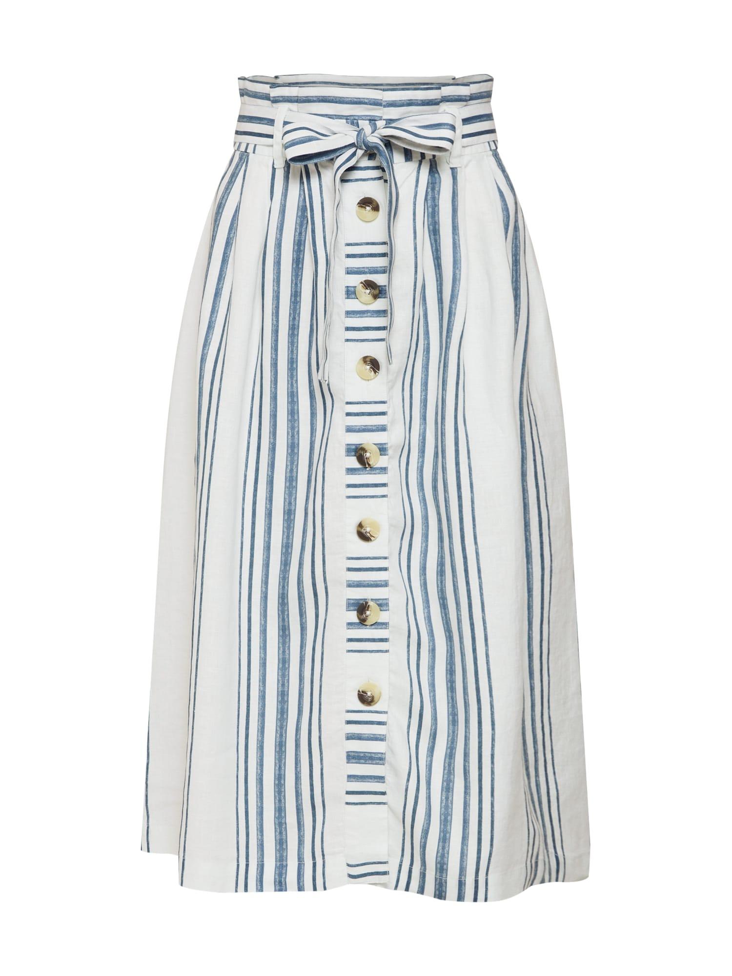 Sukně námořnická modř bílá Rich & Royal