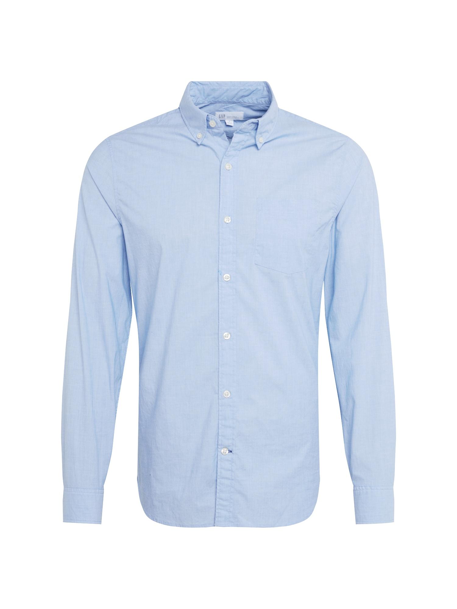 GAP Společenská košile  světlemodrá