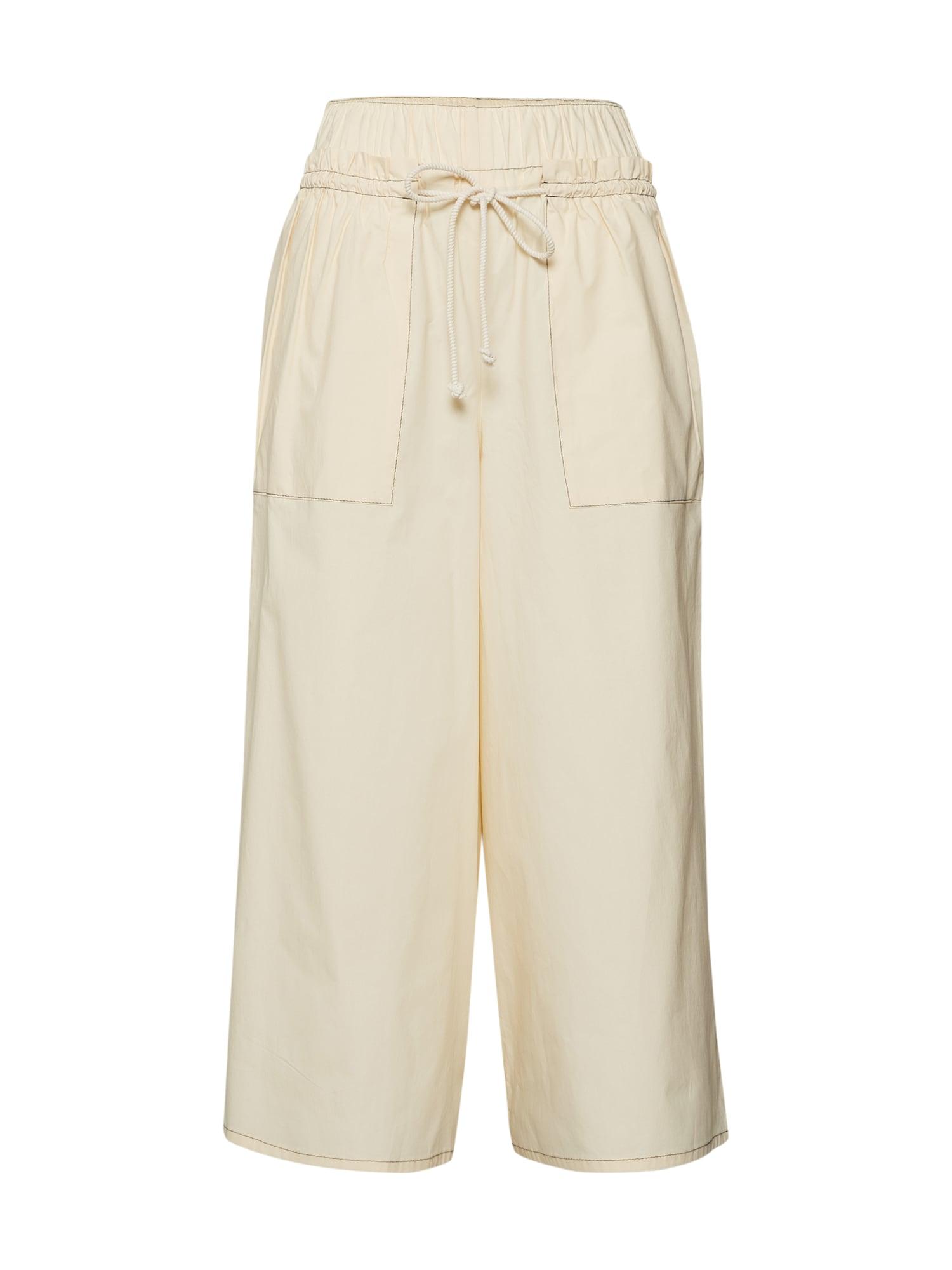 Kalhoty MANY béžová DRYKORN