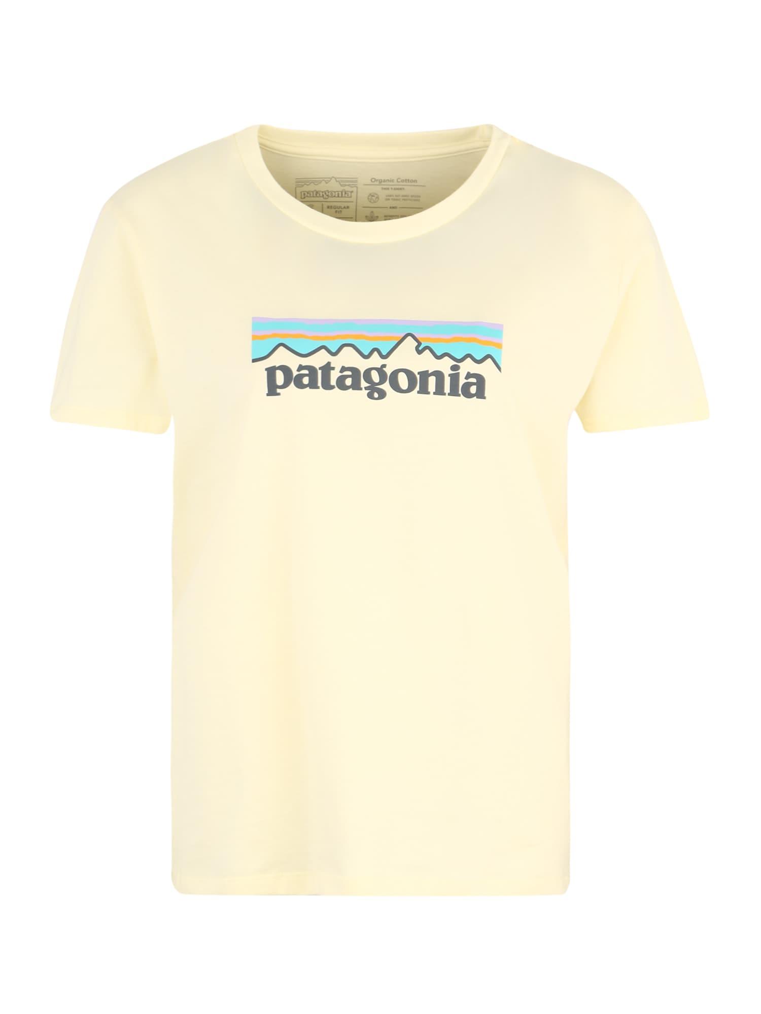 Funkční tričko světle žlutá mix barev PATAGONIA