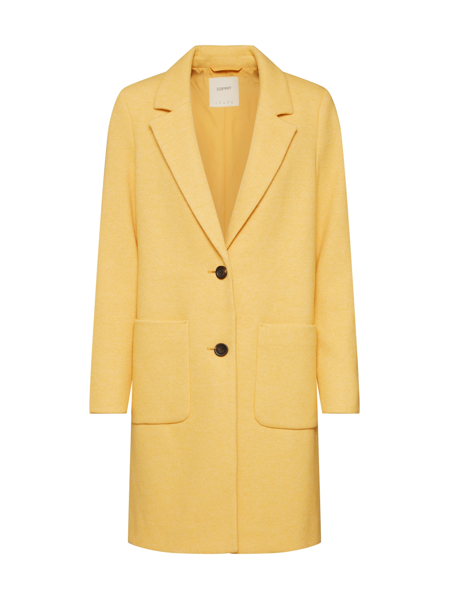 ESPRIT Rudeninis-žieminis paltas geltona