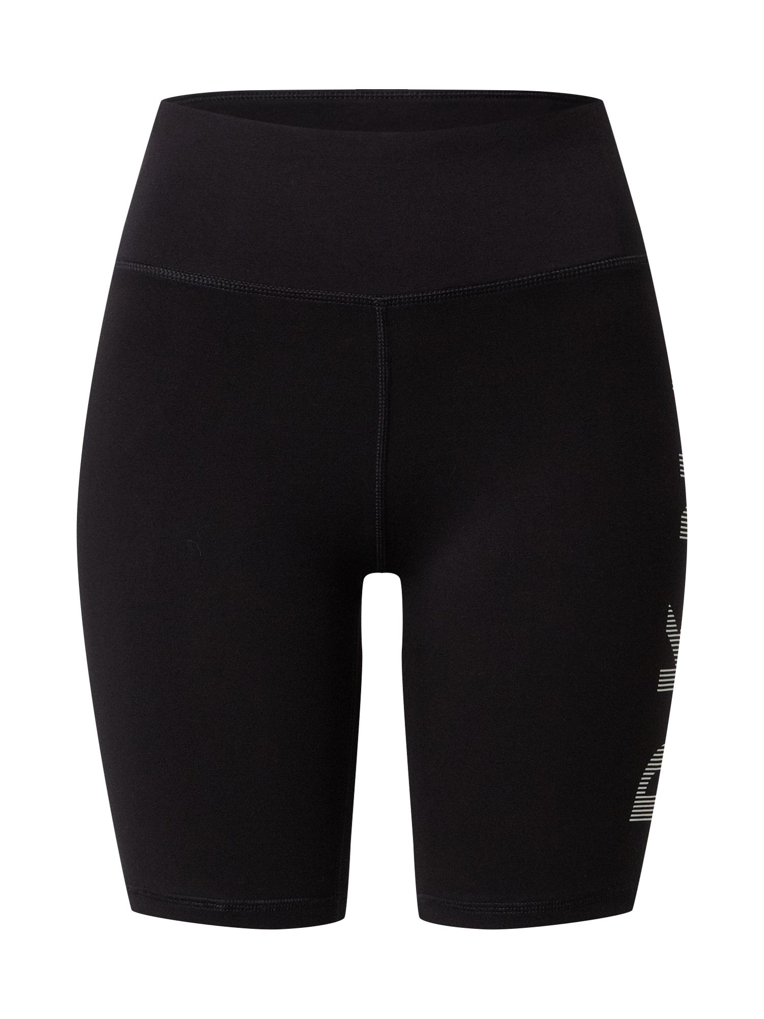 DKNY Performance Nohavice 'Bike'  čierna
